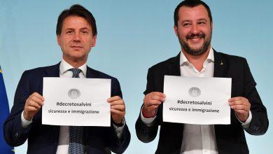 Salvini,stop Domanda Asilo Se Pericolosità O Condanna