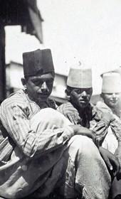 "Jäckh305: ""Boys in the streets of Shkodra"" (Photo: Ernst Jäckh, ca. 1910. Courtesy of Rare Books and Manuscript Library, Columbia University, New York, 130114-0086)."