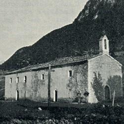 "EL1909.031: ""The church of Preçaj"" (Photo: Erich Liebert, 1909)."