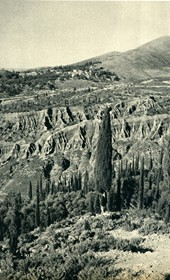 GM093: Landscape in Himara (Photo: Giuseppe Massani, 1940).