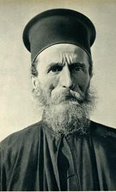 GM095: Orthodox priest in Himara (Photo: Giuseppe Massani, 1940).