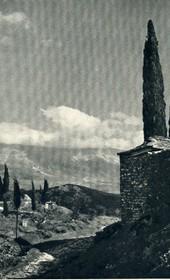 GM113: A Bektashi teqe in Gjirokastra (Photo: Giuseppe Massani, 1940).