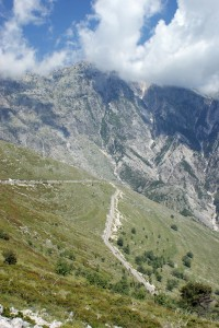 Der Çika-Berg an der Albanischen Riviera – Strasse zum Llogara-Pass