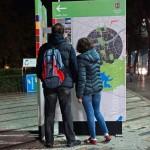 Touristische Informationstafel