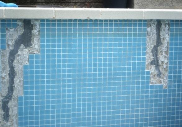 Cmo reparar grietas en una piscina de cemento  Albailes