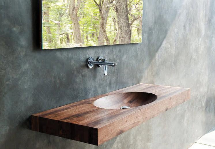 Muebles para baos Los sanitarios de madera  Albailes