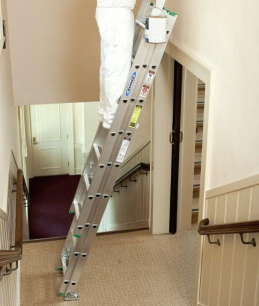 Cmo pintar las paredes de una escalera en casa  Albailes