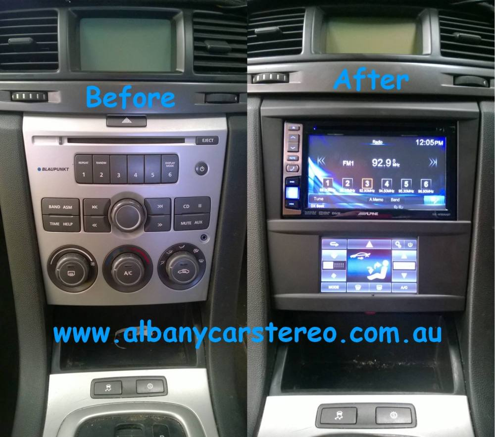 medium resolution of holden commodore ve alpine 6 1 touch heater controls
