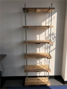 Building A Pallet Shelf Using Threaded Rod