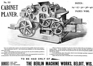 Berlin Machine Works Co Ad