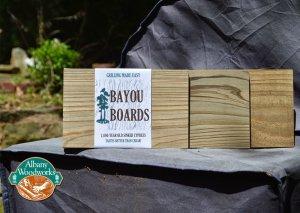 Bayou Boards™ Cypress Grilling Boards