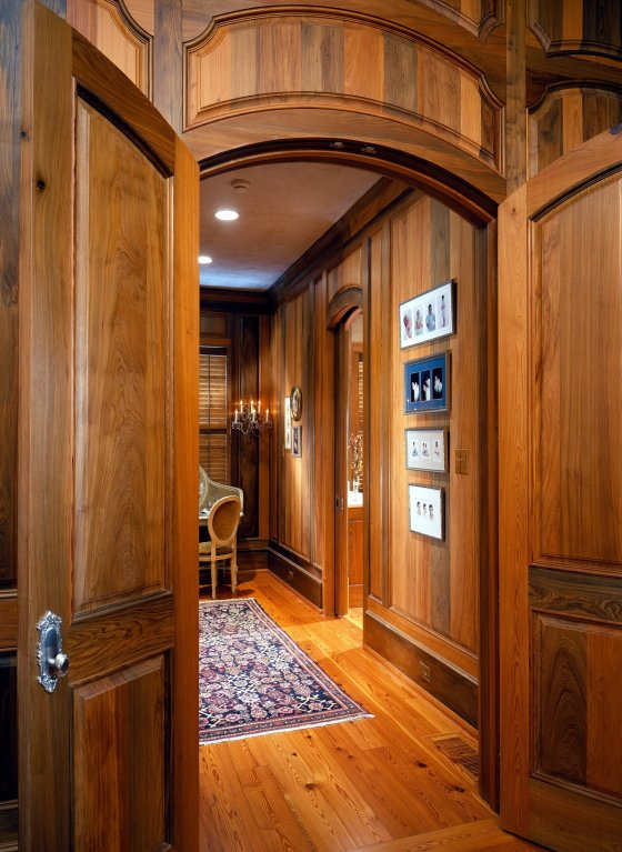 Sinker Cypress Interior Doors
