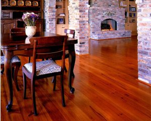 NuHeart Pine Flooring Room View 1