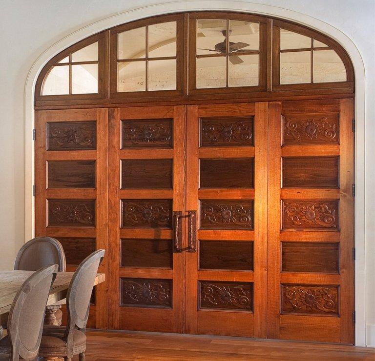 Sinker Cypress Doors