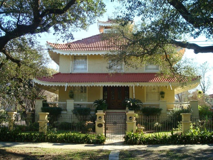 Unique New Orleans Homes: The Pagoda House