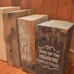 Each heart pine beam tells a story and will add real history to your project.