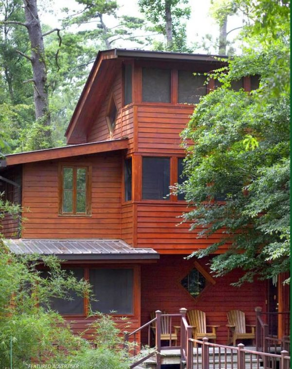 Sustainable Home Cypress Siding