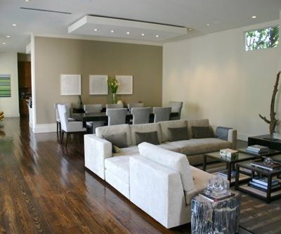 This open and airy living space is a great idea for our Artisan Collection pre-finished flooring.