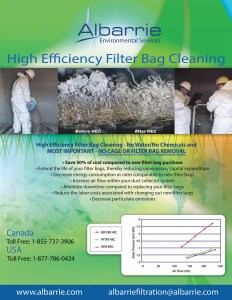 Industrial Filter bag Cleaning for Dust Collectors