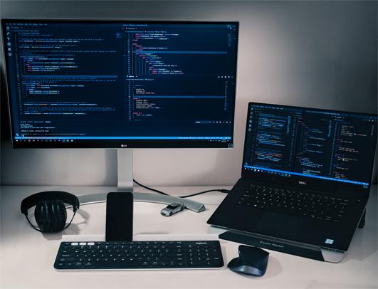 Desktop for coding