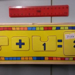 Puzzle numeri e matematica