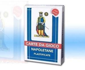 Carte Napoletame Plastificate Maxi Formato