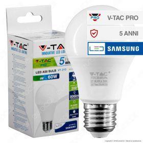Lampadina LED E27 Chip Samsung 806lm Bulb A58 9W (60w)