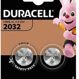 Batterie 2032 Duracell Litio 3V blister 2PZ