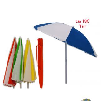 Ombrellone Spiaggia TNT 180 cm tubo piccolo