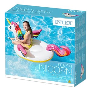 Unicorno Cavalcabile 201 x 140 x 97 cm - Intex 57561