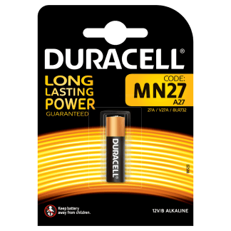Batterie MN27 Duracell 12V blister 1pz
