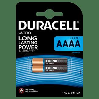 Batterie AAAA Alkaline LR8D425 Microstilo 1,5V Duracell Ultra 2Pz