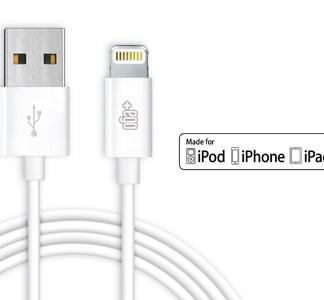 Cavo dati USB Lightning bianco Certificato MFI