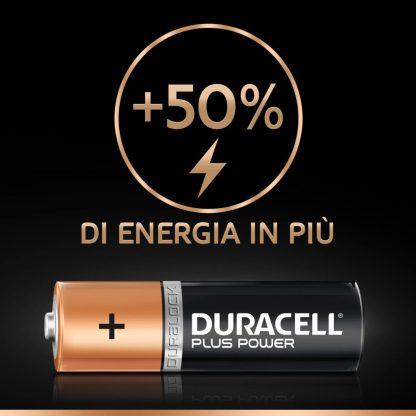 Batterie Stilo Alcaline Duracell Plus Power