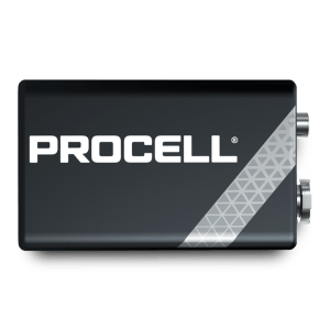 Batteria 9V Duracell Industrial Procell Alcalina Box 10pz