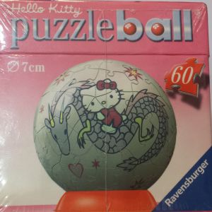 Puzzle Ball 3D Globo Hello Kitty