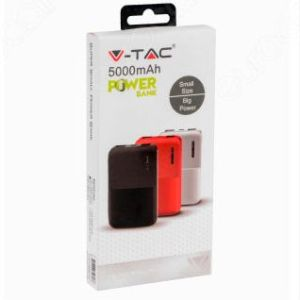 Power Bank 5000mAh 2 uscite Small Size