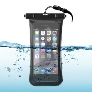Custodia Waterproof IPx8 universale per smartphone sino 5.1 pollici