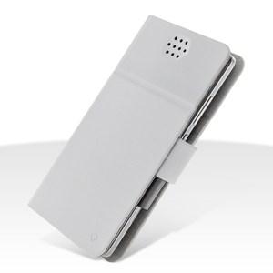 Custodia EcoPelle Universale taglia XXL fino 5.5' Serie Fold Light Grey