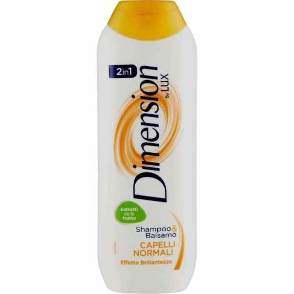Shampoo e Balsamo Dimension by Lux capelli normali