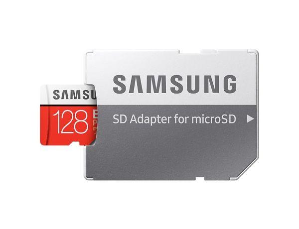Samsung Scheda MicroSD da 128 GB Adattatore SD Incluso MB-MC128GA/EU EVO Plus