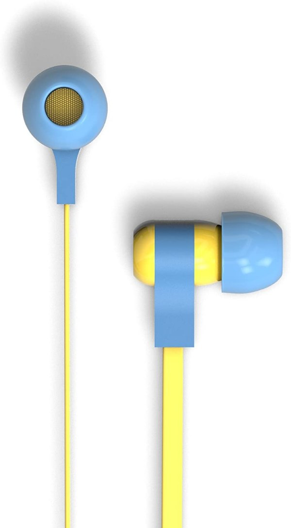 Tribe Auricolare con Microfono Swing Minions CARL In-Ear jack 3.5mm