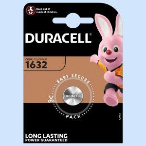 Batterie 1632 Duracell Litio 3V blister 1pz