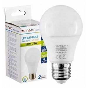 Lampadina LED VTAC 1055lm E27 A60 11W