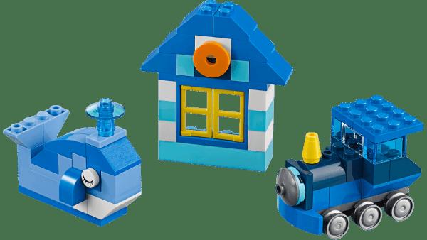 Lego Classic Mattoncini Blu creativi 11006