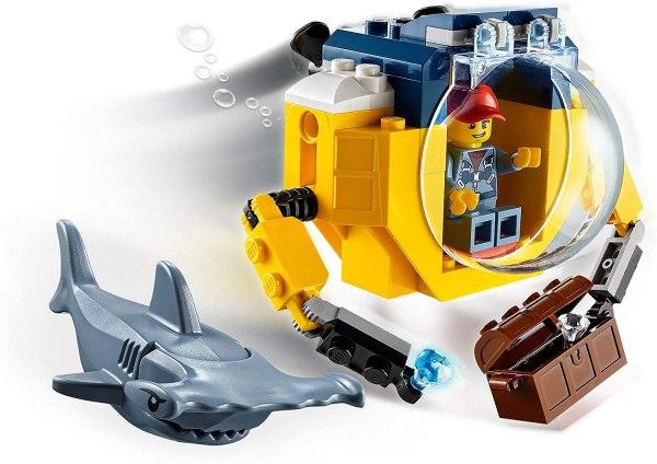 Lego City Minisottomarino oceanico 60263