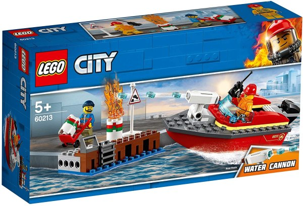 Lego City Incendio al porto 60213