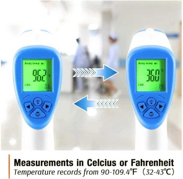 Termometro Digitale Infrarossi Termo Scanner T-168
