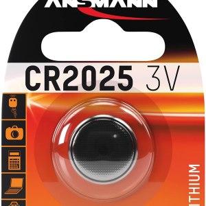 Batterie 2025 ANSMANN Litio 3V blister 1pz