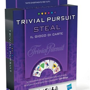 Trivial Pursuit Steal il gioco di carte